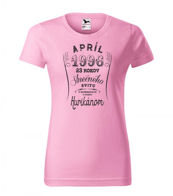 apríl niekoľko rokov slnečného svitu s malým hurikánom ružová 30