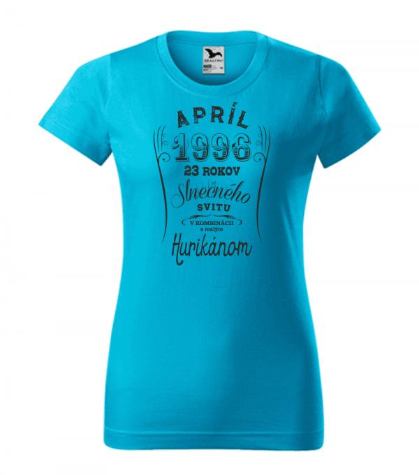 apríl niekoľko rokov slnečného svitu s malým hurikánom smaragdovo tyrkysová 44