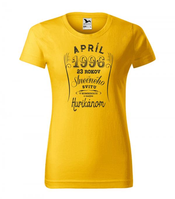 apríl niekoľko rokov slnečného svitu s malým hurikánom smaragdovo žltá 04
