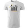 pánske tričko - bez Teba som stratený - farba biela 00