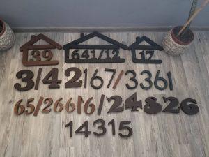 súpisné čísla na dom