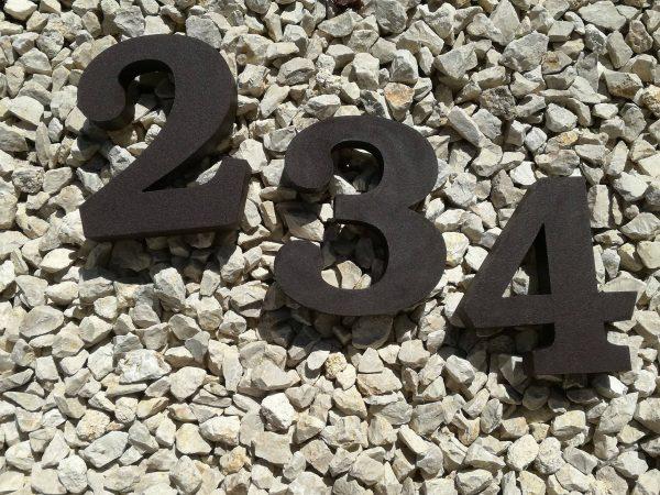 súpisné číslo na dom ITC Bookman demi, farba palysander