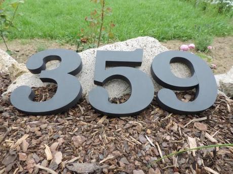 súpisné číslo na dom ITC Bookman demi, farba sivá