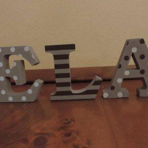 detské meno na stenu, vzor ELA