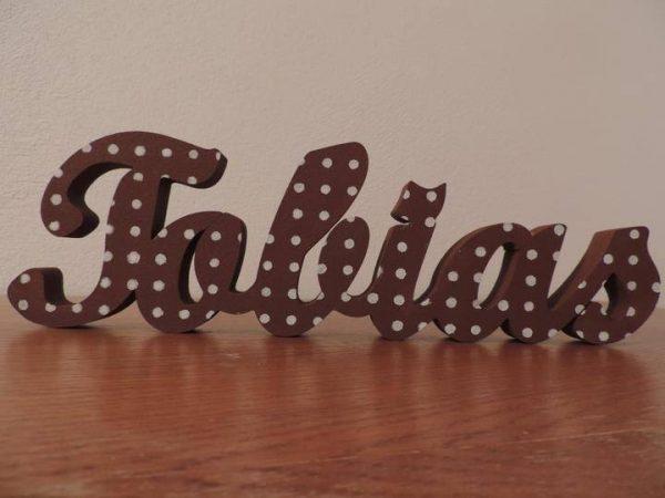 detské meno na stenu, vzor Tobias