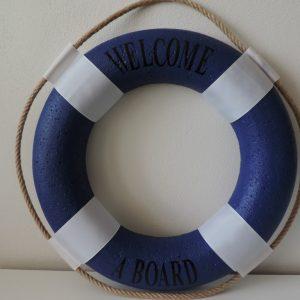 námornícke koleso modré