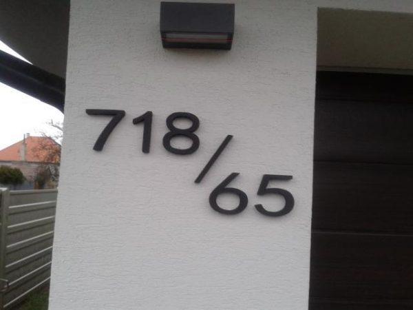 Súpisné a orientačné číslo na dom new ribbom