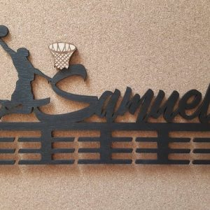 Vešiak na medaile Basketbalista 2 Čierna Samuel