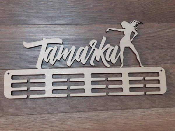 Vešiak na medaile Moderný tanec Natur Tamarka