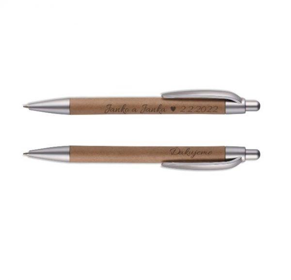 Eko guľôčkové pero pre gravírovanie - na sadbu