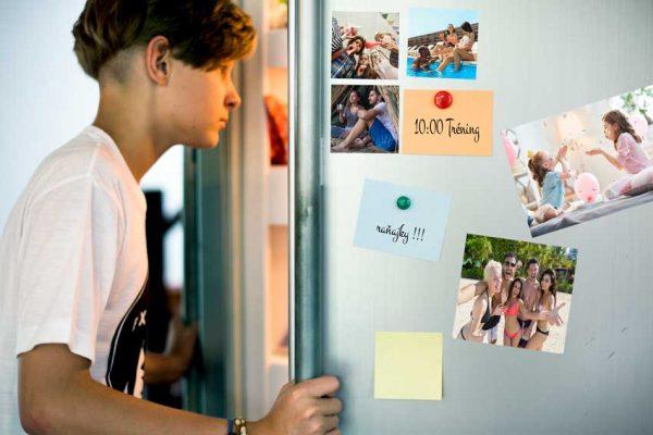 fotomagnetky na chladničku s vlastnou fotkou