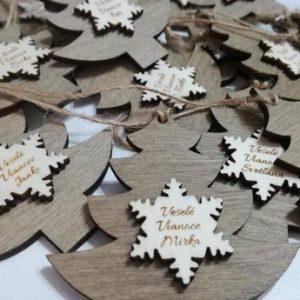 Vianočná ozdoba stromček s Prianím