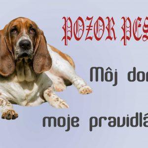 Pozor pes! Môj dom, moje pravidlá!